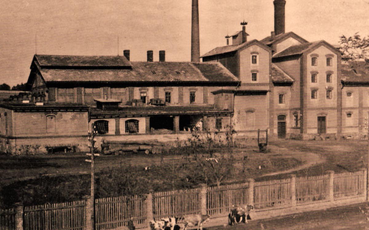 Pohled na pivovar v roce 1933 I foto: Archiv města Dobříše