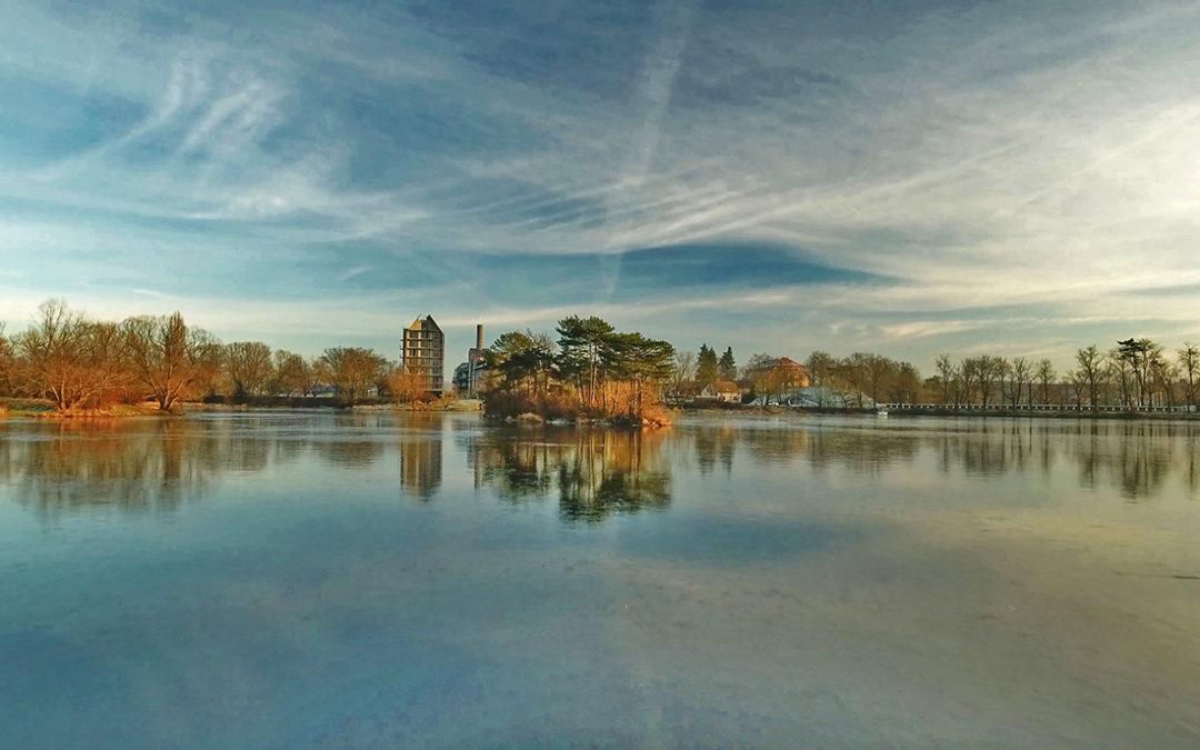 Video: Zimní kouzlo rybníku Papeže
