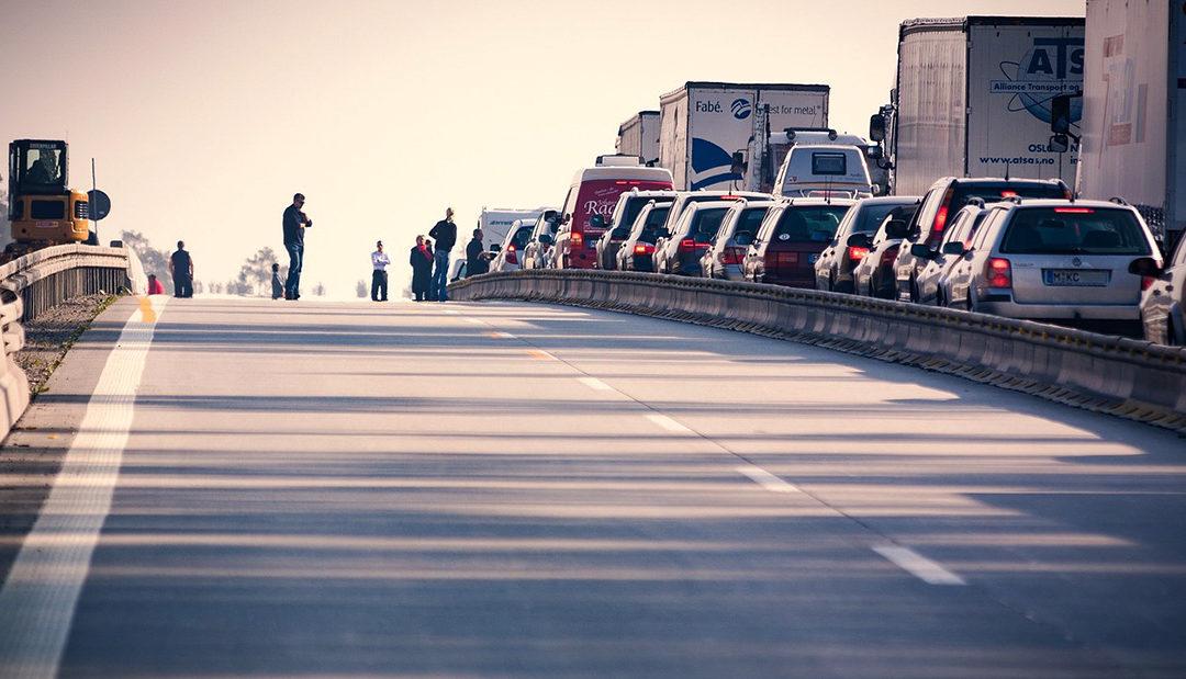 Demolice a stavba mostu na Skalce zkomplikuje dopravu na D4 nejméně na půl roku