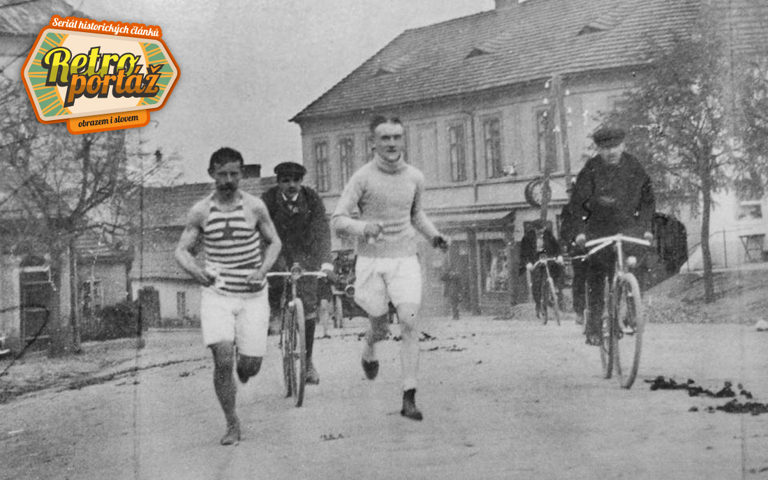 Díl seriálu Retroportáž se tentokrát zaměřil na slavný maraton I foto: Archiv města Dobříše
