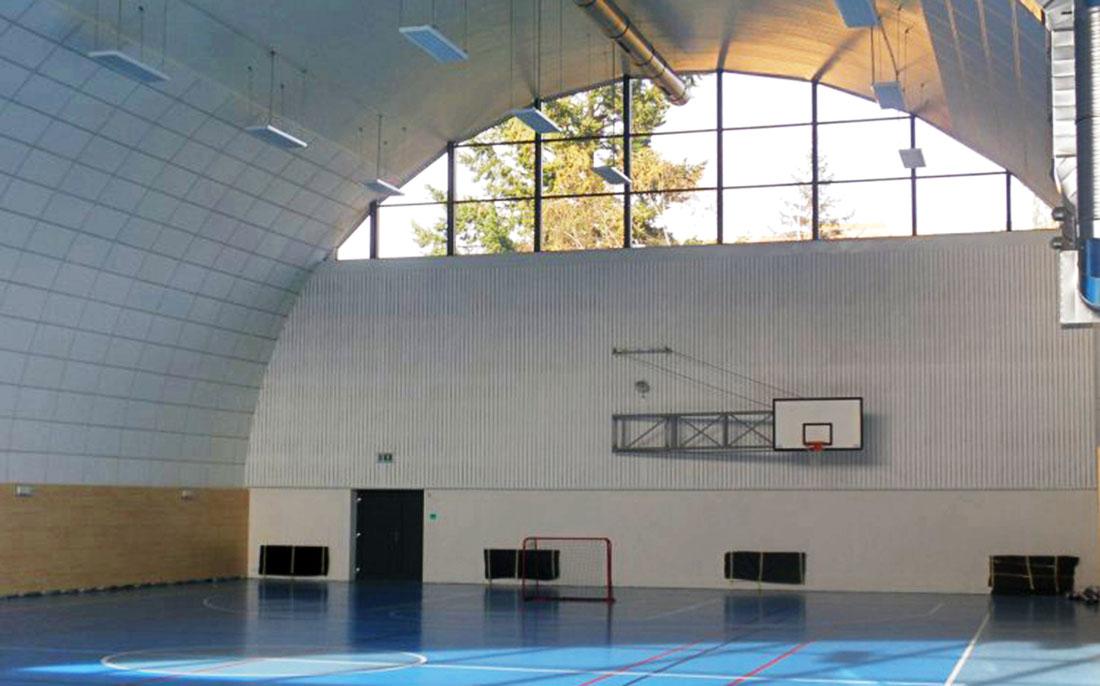 Sportovní hala v Mníšku pod Brdy I foto: oficiální stránky sportovní haly