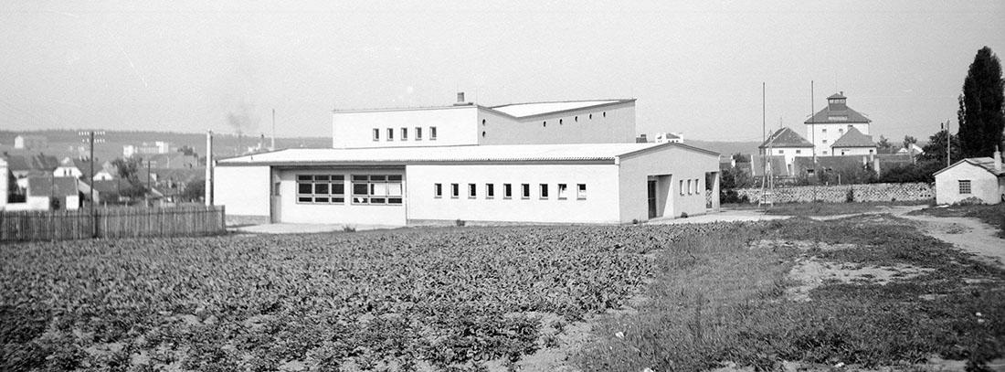 Budova nového kina I foto: archiv města Dobříše