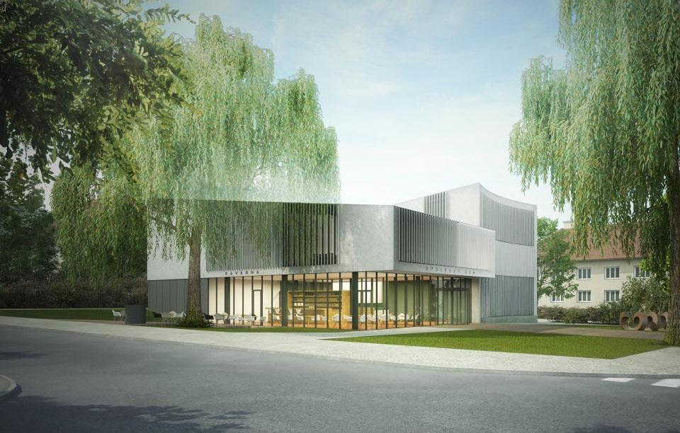 Aktuální návrh multifunkčního domu I foto: město Dobříš