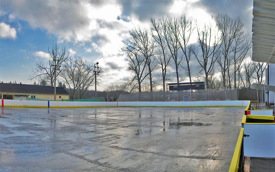 Zimní stadion v Dobříši I foto: rflktr