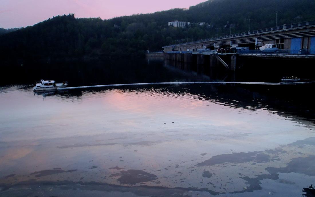 Havárie u Orlické přehrady I foto: archiv HZS Středočeského kraje