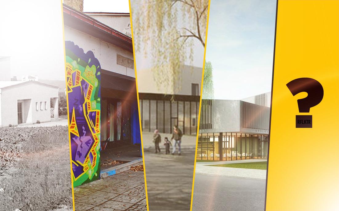 Bývalé dobříšské kino stále nemá jasnou budoucnost I foto: rflktr + archiv města Dobříše + město Dobříše
