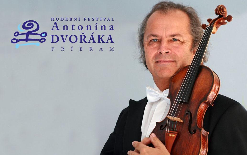 Václav Hudeček vystoupí v rámci Hudebního festivalu Antonína Dvořáka na podporu vily Rusalka