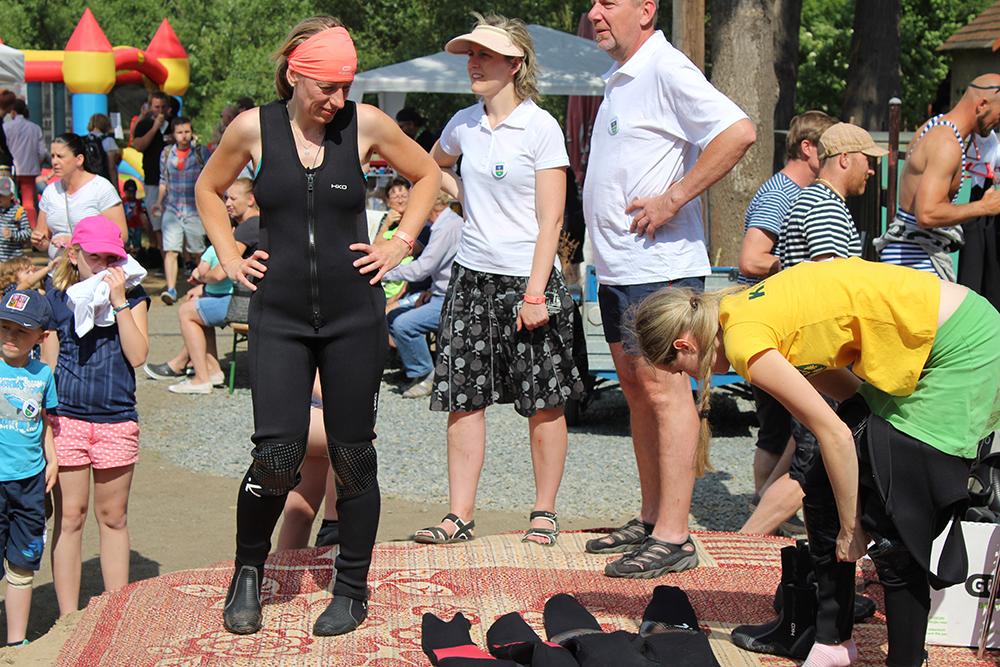 Závodníci ukázali, že nejsou žádný párátka  I  foto: Šárka Spáčilová