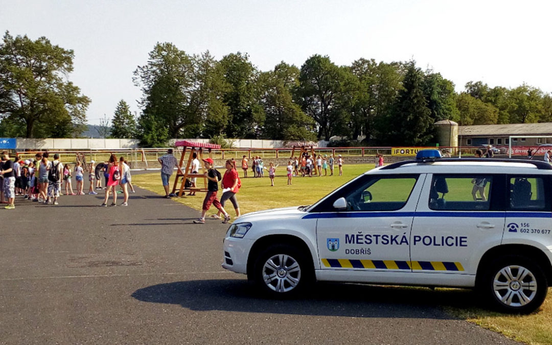 Děti změřily své síly na Policiádě