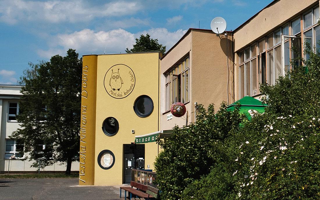 Městská knihovna Dobříš I foto: Patrik Demo