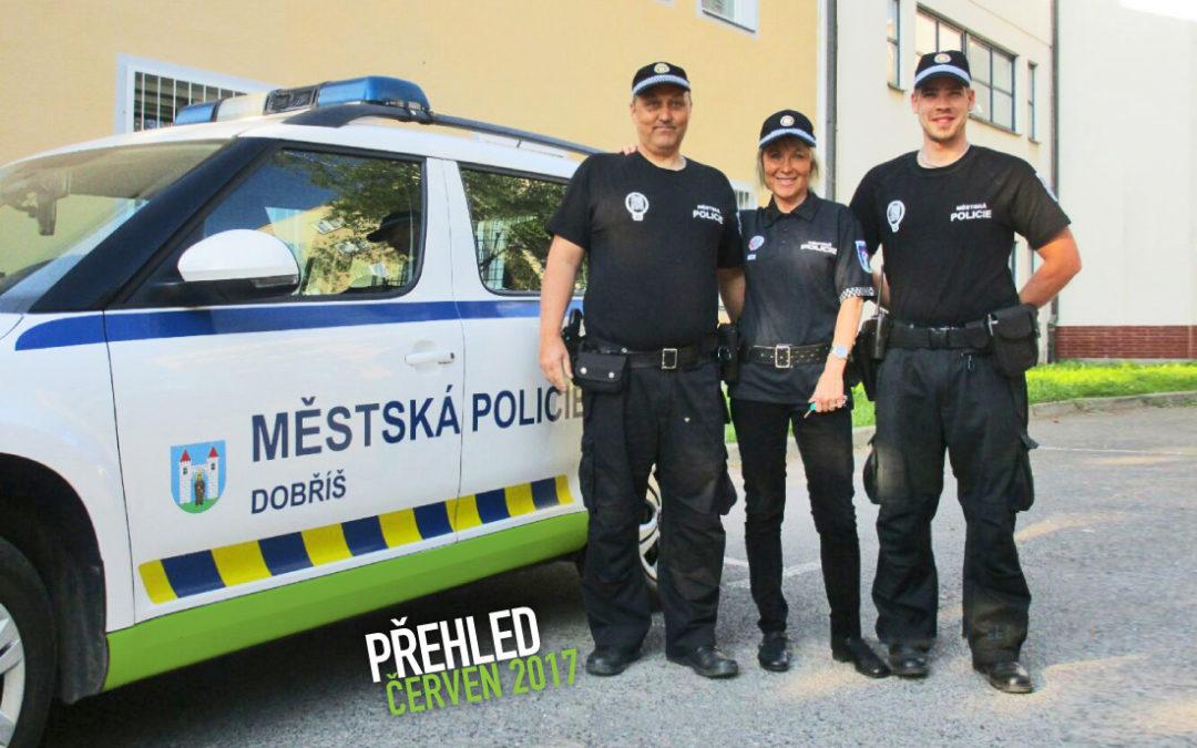 Činnost Městské policie Dobříš za měsíc červen