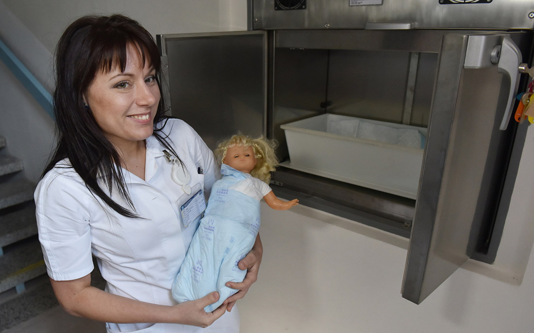 Oblastní nemocnice Příbram má nový babybox I foto: archiv ONP