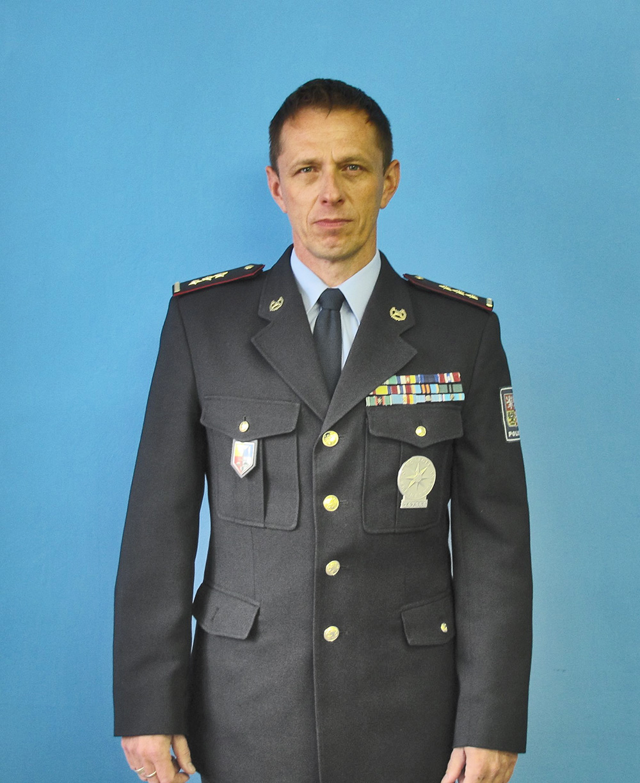 Plk. Mgr. René Peták  I  foto: archiv P ČR