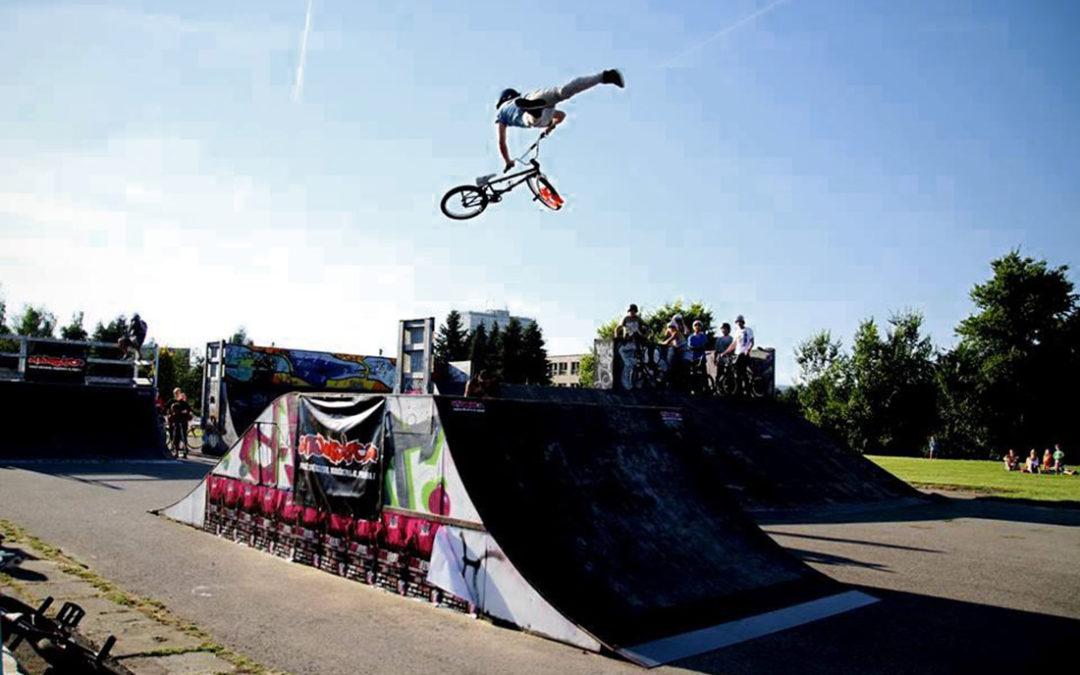 VI. ročník závodů freestyle BMX: Bike Fight 2017
