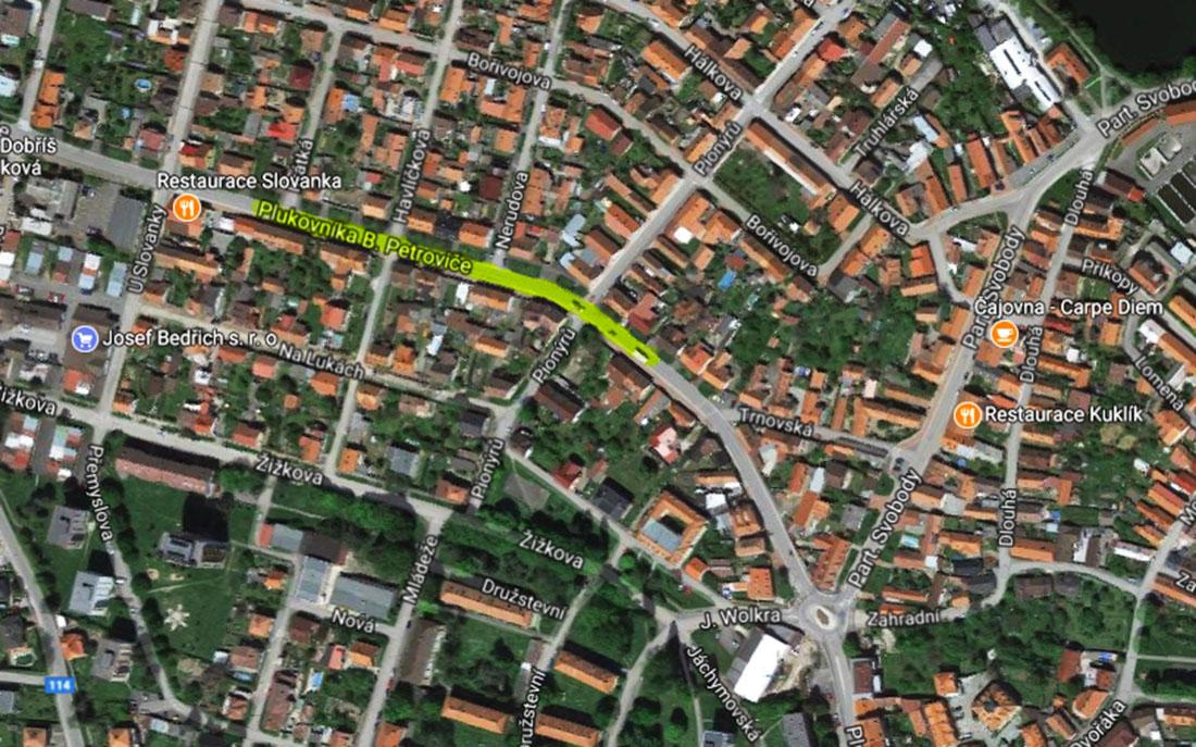 Od října bude část ulice Plk. B. Petroviče pod dohledem