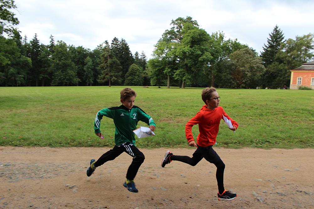 Běželo se v zámeckém parku  I  foto: Šárka Spáčilová