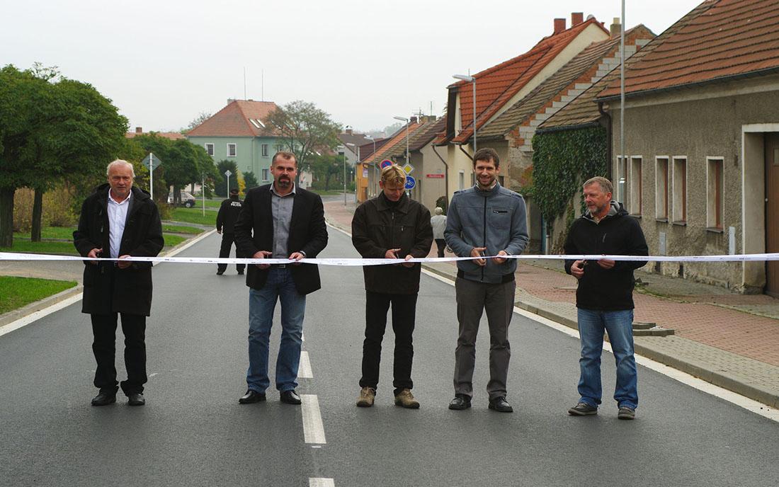 Slavnostní otevření zrekonstruované ulice I foto: archiv město Dobříš