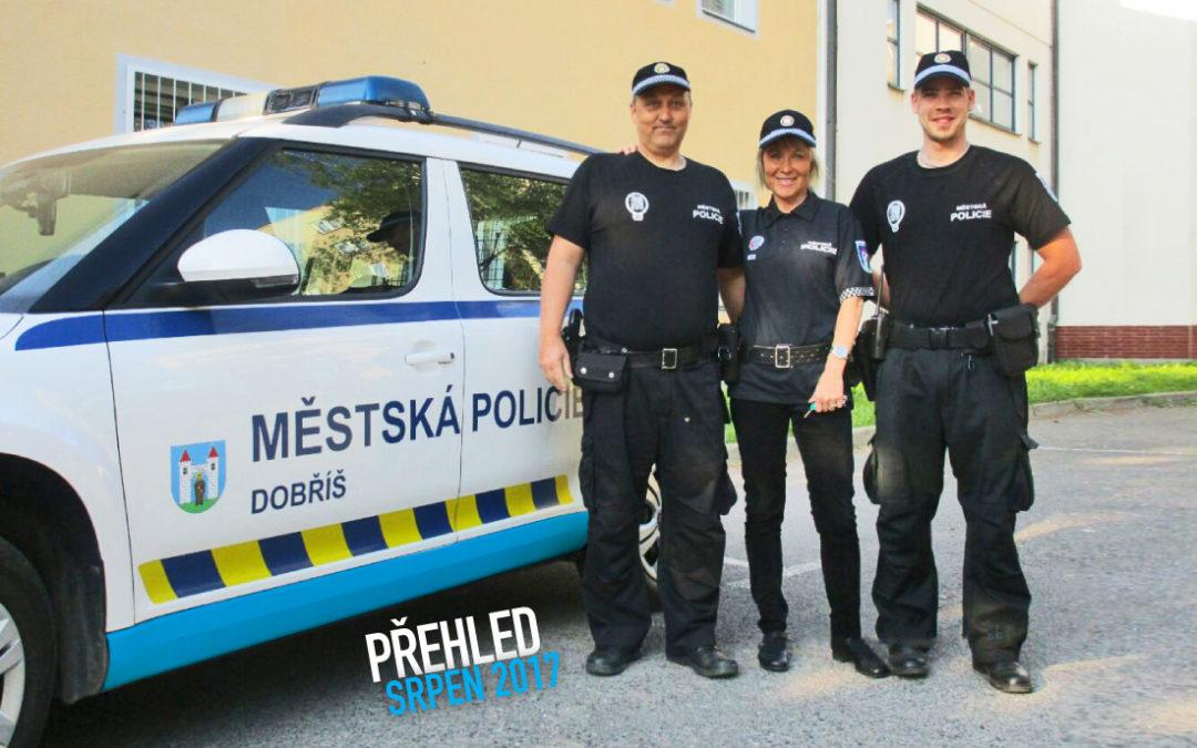 Činnost Městské policie Dobříš za měsíc srpen
