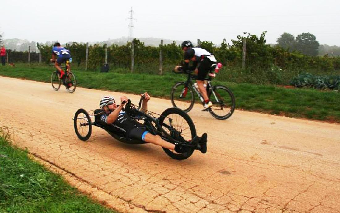 Honza Tománek na posledním závodu roku  I  foto: HT