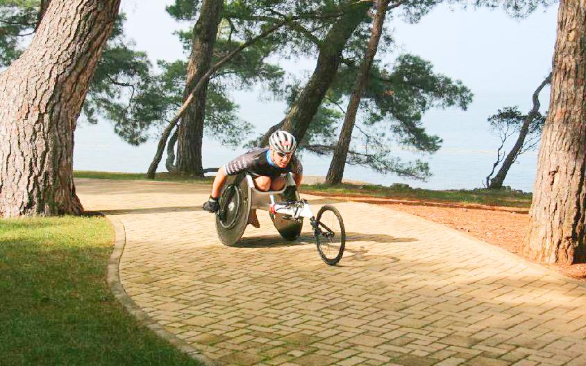 Cyklistická část mu dala zabrat  I  foto: HT
