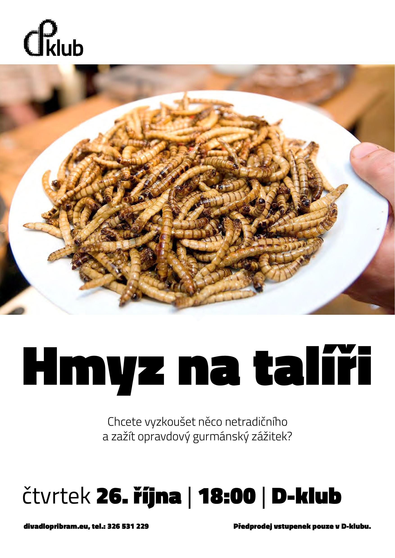 Akce Hmyz na talíři proběhne také v říjnu  I  foto: DAD