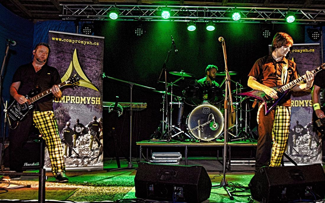 Rocková kapela Compromysh pokřtí své album v Příbrami I foto: archiv Compromysh