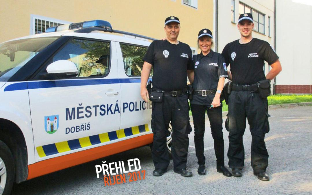 Činnost Městské policie Dobříš za měsíc říjen 2017