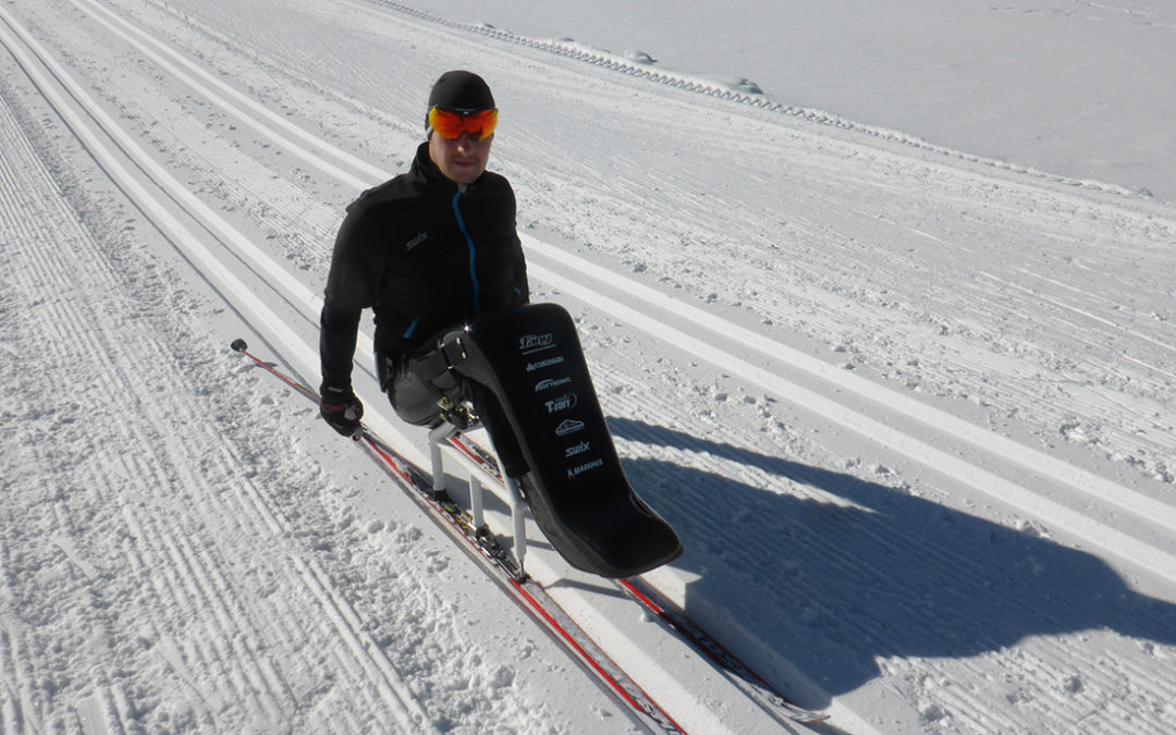 Dobříšský hendikepovaný sporťák Honza Tománek se pilně připravuje na běžkařské závody