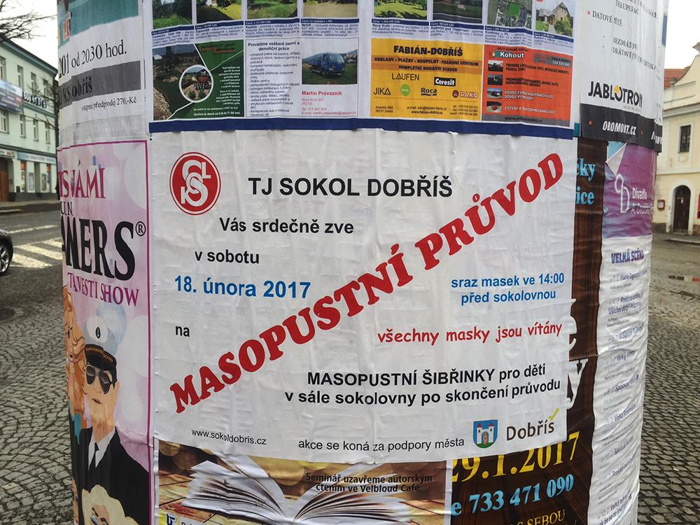 Dobříšsky masopust 2017  I  foto: Alžběta Kučerová