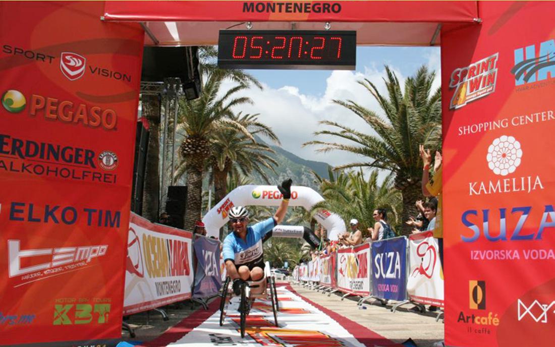 Honza Tománek na závodě  I  foto: www.honzatomanek.com