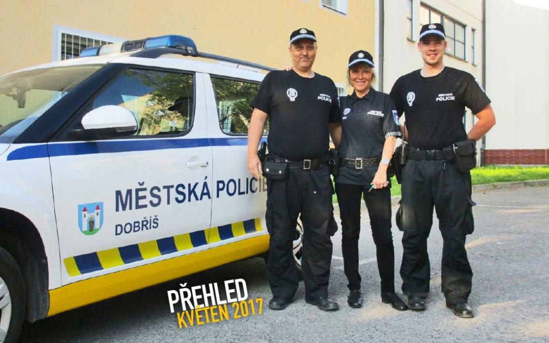 Činnost Městské policie Dobříš za měsíc květen