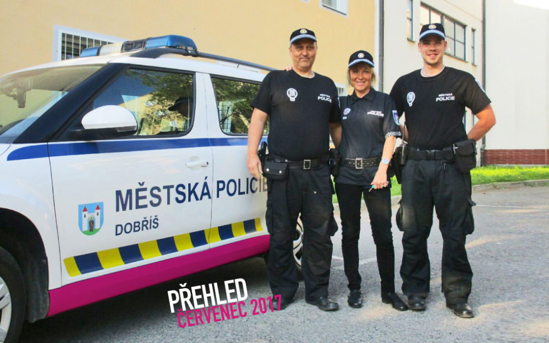 Činnost Městské policie Dobříš za měsíc červenec