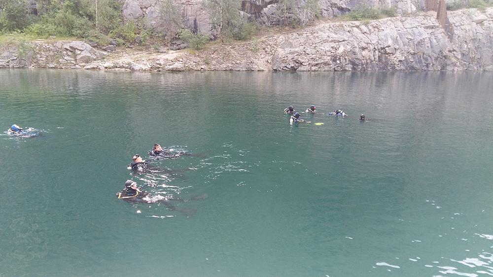 Během potápění  I  foto: archiv HŠ
