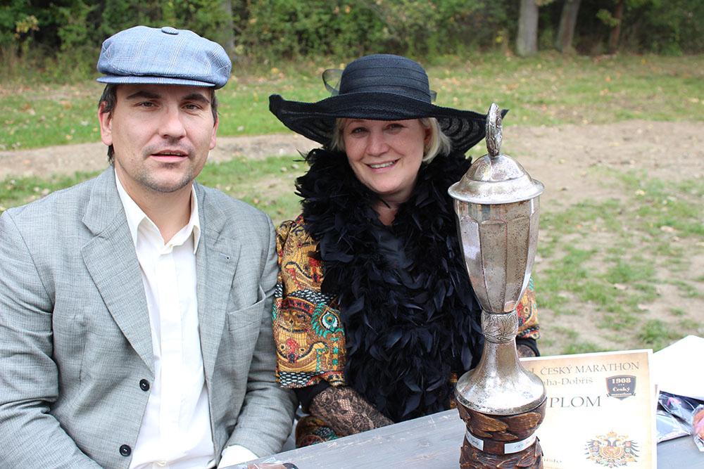 Stříbrný pohár daroval kníže Colloredo-Mannsfeld  I  foto: Šárka Spáčilová