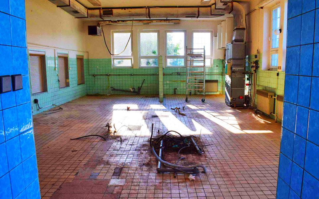 Jídelna a varna 1. základní školy v Dobříši zahájí zkušební provoz 20. listopadu