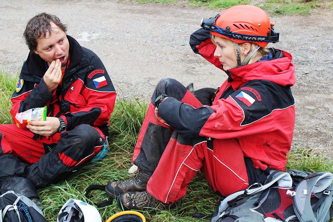 Záchranářský tým  I  foto: Šárka Spáčilová